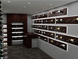 Chicago IL 60603 Contemporary Wine Cellar Racking (025)