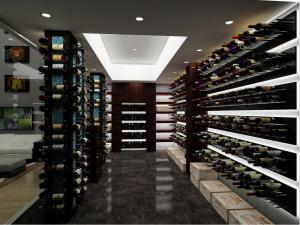 Chicago IL 60603 Contemporary Wine Cellar Racking (026)