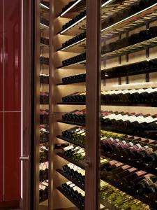 Chicago IL 60611 Contemporary Wine Cellar Racking (033)