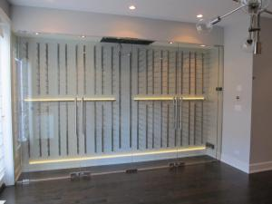Chicago IL 60642 Contemporary Wine Cellar Racking (029)