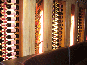Chicago IL 60657 Restaurant Metal Wine Racks (009)