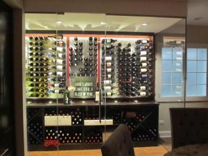 Hinsdale IL 60521 Contemporary Wine Cellar Racking (036)