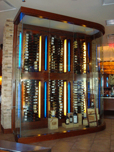 Lincoln Park 60614 Restaurant Metal Wine Racks (012)