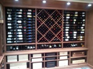 Barrington IL 60010 Custom Wine Cellar Cabinetry (053)