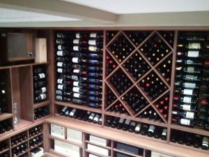 Barrington IL 60010 Custom Wine Cellar Cabinetry (054)