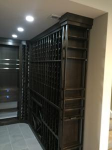 Burr Ridge IL 60527 Custom Wine Cellar Cabinetry (058)