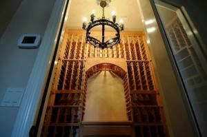 Glencoe IL 60022 Custom Wine Cellar Cabinetry  (063)