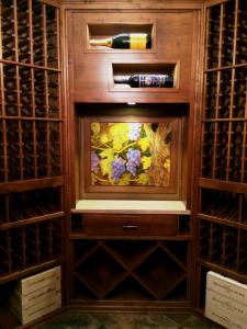 Glencoe IL 60045 Custom Wine Cellar Cabinetry (069)