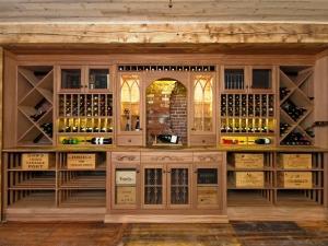 Wilmet IL 60091 Custom Wine Cellar Cabinetry (089)