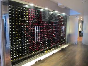 Chicago IL 60611 Ritz Carlton Glass Enclosed Wine Cellar (017)