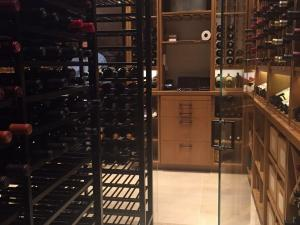Chicago IL 60614 Lincoln Park  Metal Wine Cellar Racking (021)