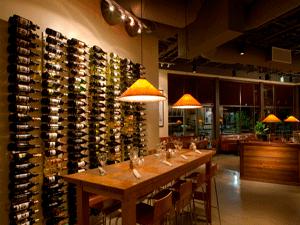 Chicago IL 60654 Loop Restaurant Metal Wine Racking (008)