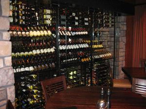 Oak Brook IL 60521 Restaurant Metal Wine Racking (018)