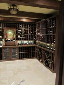 Briar Ridge Country Club Schererville IN 46375 Traditional Wine Cellar Racking (094)