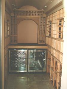 Burr Ridge IL 60527 Traditional Wine Cellar Racking (096)