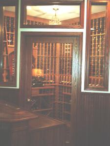 Chicago IL 60611 Traditional Wine Cellar Racking (099)