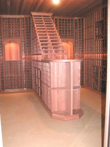 Chicago IL 60642 Traditional Wine Cellar Racking (101)