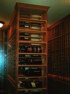 Hinsdale IL 60521 Traditional Wine Cellar Racking (121)