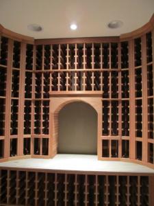 Kenilworth IL 60043 Traditional Wine Cellar Racking (127)
