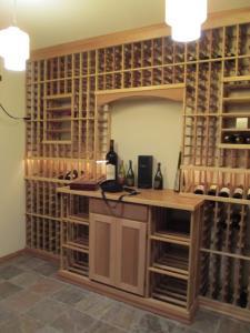 Winetka IL 60093 Traditional Wine Cellar Racking (181)