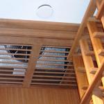 Cooling-Split-Sytem-Evaporator-Coil-in-Ceiling-Custom-Grill-