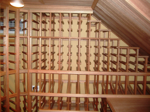 Custom-Closet-with-Tongue-and-Grove-Ceiling