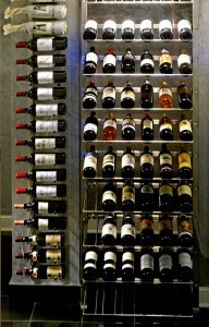 Chicago IL 60611 Highrise Condo Contemporary Wine Racking