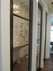 Winnetka Illinois Lucite and glass