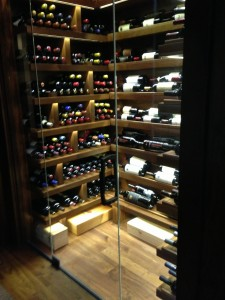 Chicago IL 60654 Highrise Condo Shelving Style Wine Storage