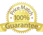 100% Price Match Guarantee