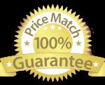 100% Price Match Guarantee